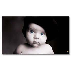 Αφίσα (μαύρο, λευκό, άσπρο, μωρό)